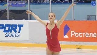 Анастасия Губанова / Anastasiia Gubanova -Кубок России 4-й этап  Жeнщины, MC - Кп - 9 ноябрь 2018