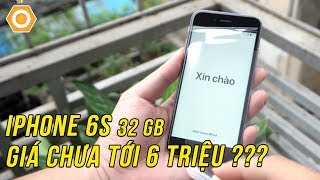 """3 """"KHÔNG"""" của iPhone 6s 32GB mới nguyên seal, chưa tới 6 triệu"""