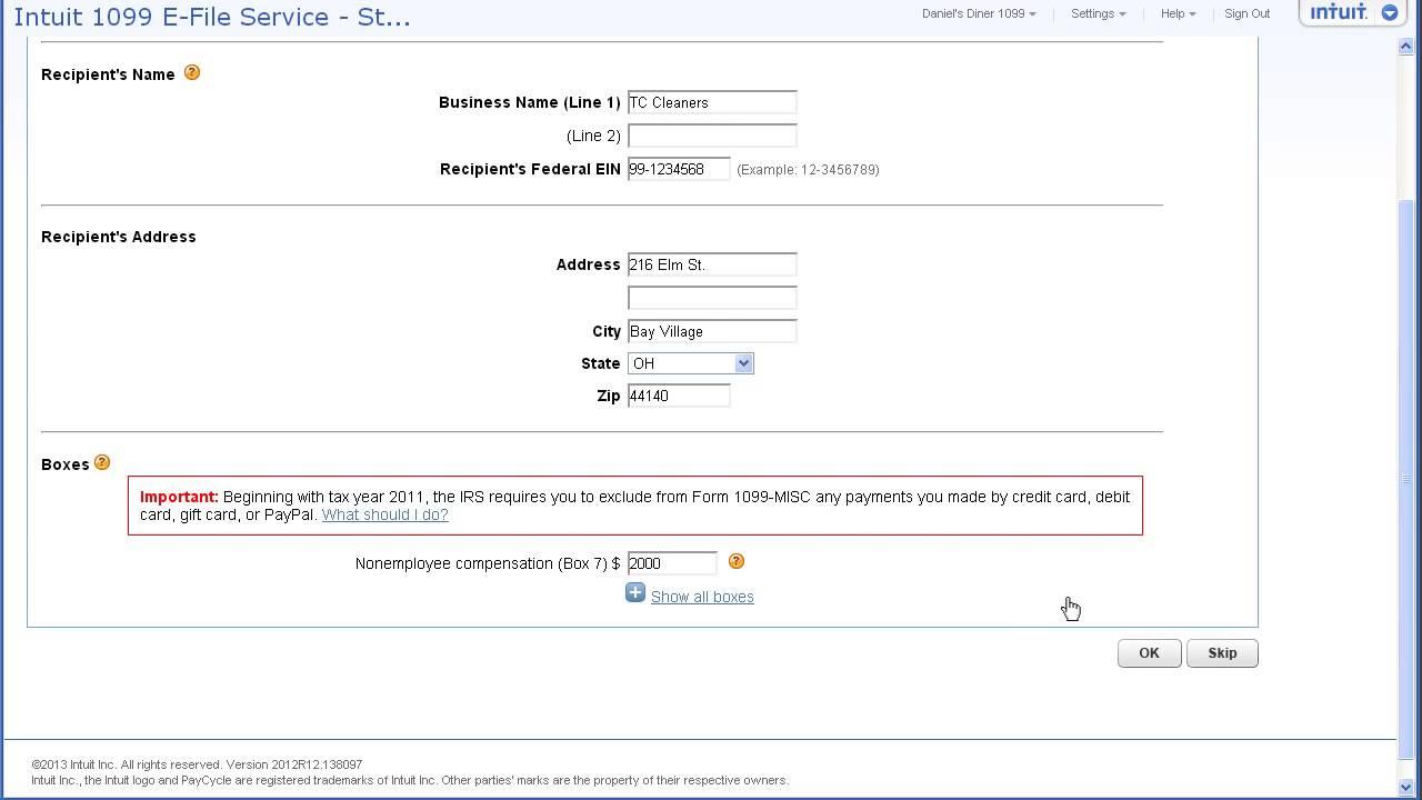 Intuit 1099 e file service youtube intuit 1099 e file service falaconquin