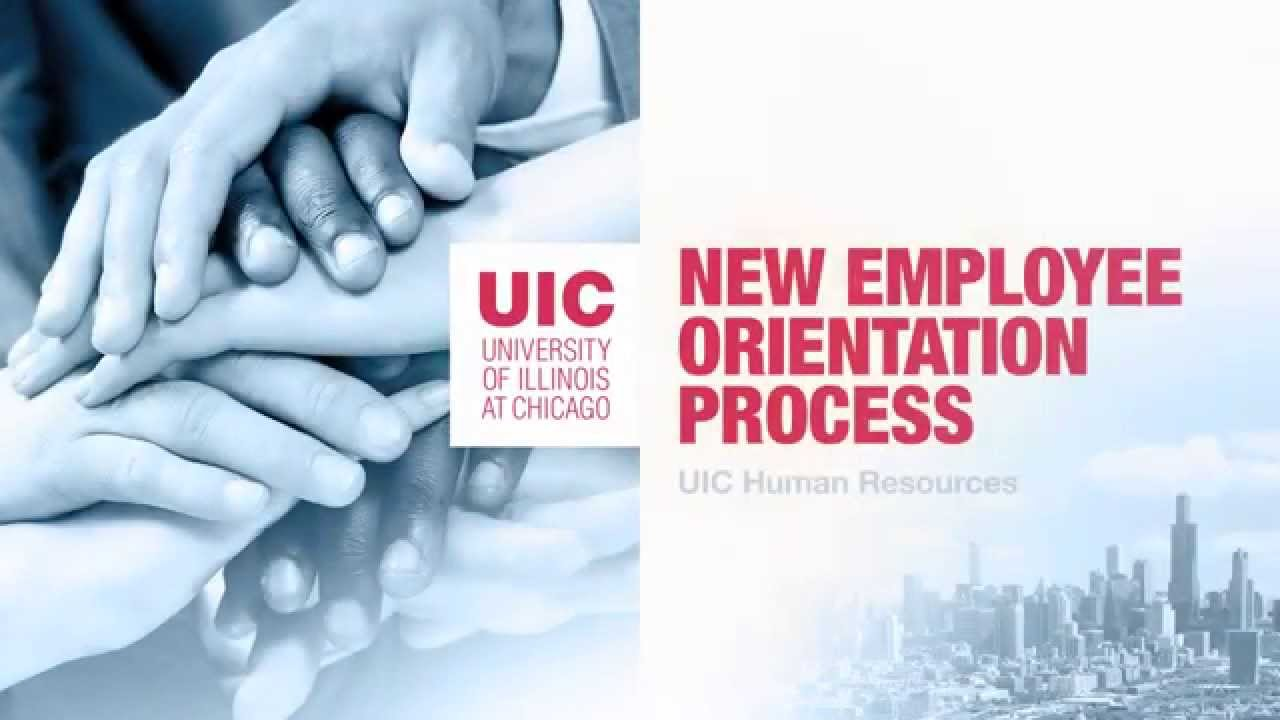 Welcoming A New Employee - UICHR