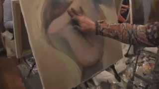 """Видеоурок Сахарова """"Как научиться рисовать маслом"""" живопись для начинающих, уроки рисования"""