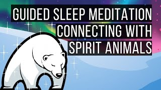 Connecting With Spirit Animals 😴 LONG SLEEP STORY FOR GROWNUPS 💤 Reduce Stress, Anxiety & Worry