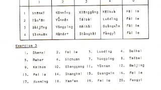 FSI Pinyin Tape 6