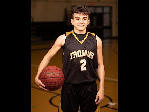 "John Robert ""JR"" Harris 7th Grade Carrollton Jr. High Basketball 2020-2021"