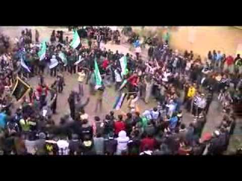 جمعة دعم  الجيش الحر درعا البلد ج3   13 1 2012