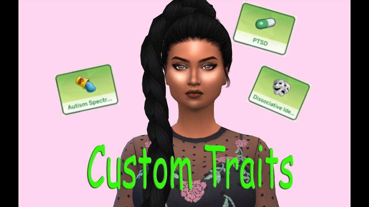 Sims 4 Custom Traits || Mental Health Traits
