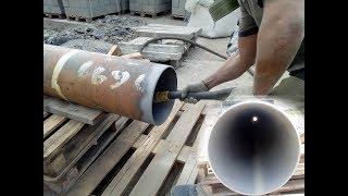 видео Как очистить трубу от ржавчины