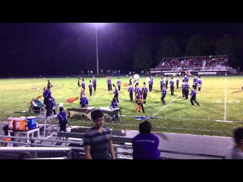 Strasburg High School Purple Regiment 06 Sep 2013
