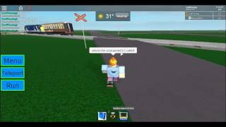 ROBLOX | DRS Pulling a mk1 coach passes Wardsey North LC