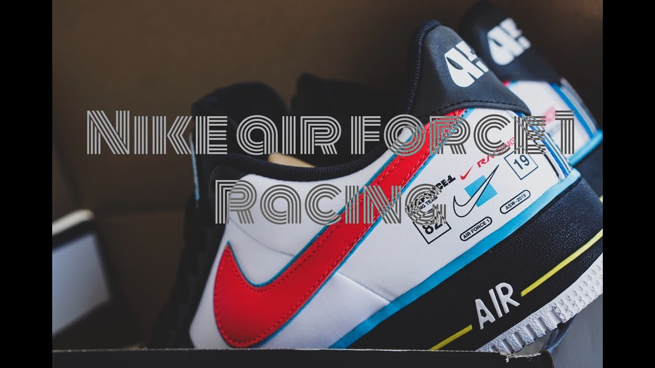 online store 6bc83 ebcb2 Nike Air Force 1-Racing On feet, Unboxing, Review