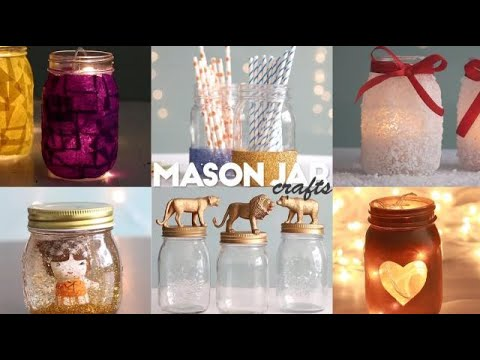 Easy Mason Jar Crafts Youtube