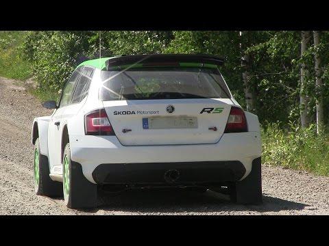ŠKODA Motorsport / Fabia R5 - Pontus Tidemand & Esapekka Lappi