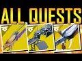 Destiny 2 ALL EXOTIC QUESTS SECRET CODE mp3