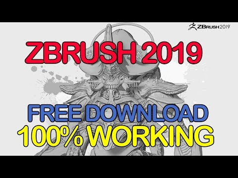 How To Download Zbrush 2019 For Free (LIFETIME USE)
