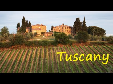 Tuscany 2017 HD Travel Video