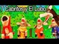 Los 7 Cabritos y El Lobo Feroz con El Mono Sílabo - Videos Educativos para Niños #