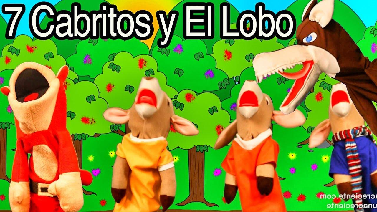 Los 7 Cabritos y El Lobo Feroz con El Mono Sílabo | Cuentos Infantiles | Lunacreciente