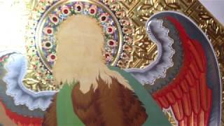 Обучение Прописи Огненного Крыло Мастер Класс по Иконописи Иоанна Предтечи Ангел Пустыни
