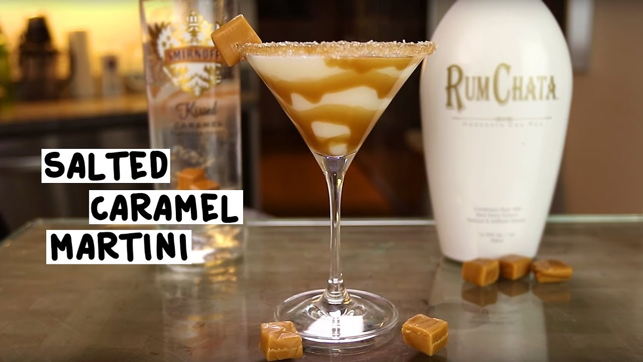 Salted Pretzel Shot With Rumchata