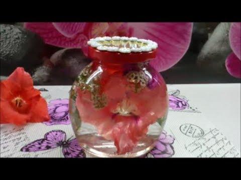 Как сохранить живые цветы в глицерине