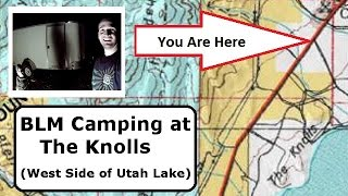 BLM Camping on the West Side of Utah Lake