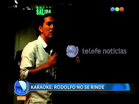 Rodolfo Barili, de karaoke - Telefe Noticias