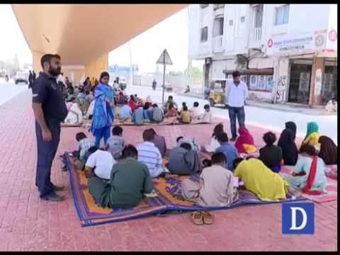footpath school in karachi youtube