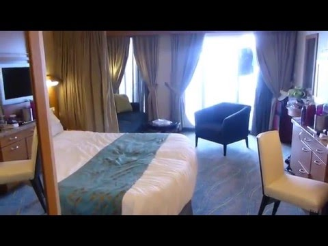 Royal Caribbean Oasis of the Seas Tour of Junior Suite Cabin 9642