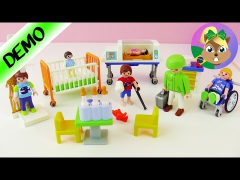 Playmobil Médico de Crianças português - Com caminha - Pediatra Playmobil - Joga comigo