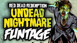Red Dead Redemption: Undead Nightmare - Funtage! - (Funny Moments)