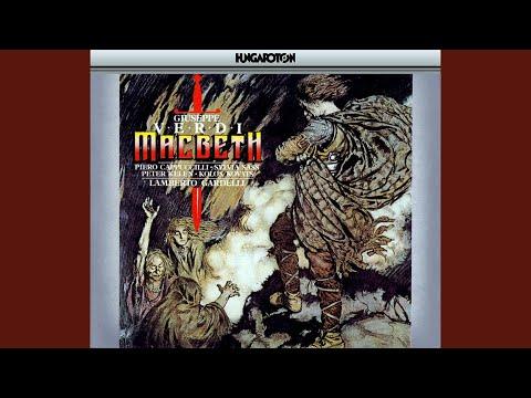 """Macbeth, Act 2, Scene 1: Scena """"Perché Mi Sfuggi"""""""
