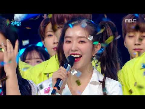 [HOT] 8월 3주차 1위 '레드벨벳 - Power Up (Red Velvet  - Power Up)' Show Music Core 20180818