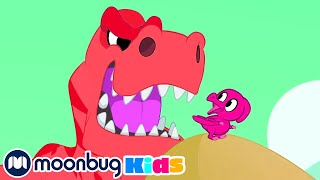 Morphle and her dinosaur adventures! | Morphle | Jurassic Tv | Dinosaurs and Toys | T Rex Family Fun