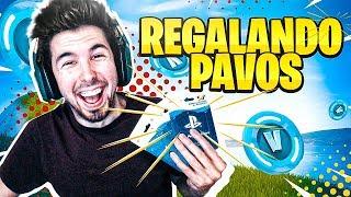 REGALANDO PAVOS en DIRECTO!