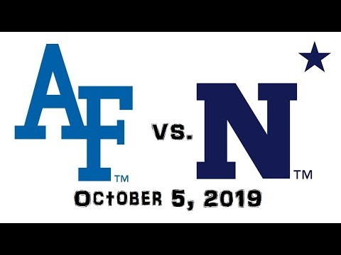 October 5, 2019 - Air Force Falcons Vs. Navy Midshipmen Full Football Game