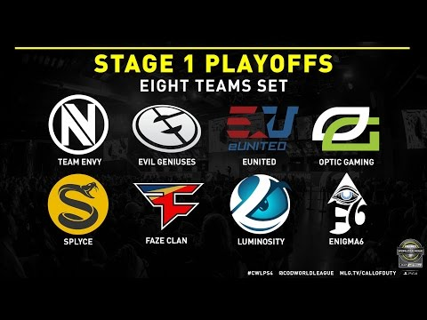 CWL Pro League Stage 1 Playoff Draw