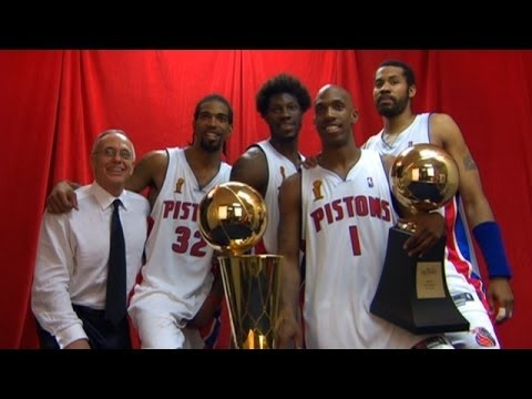 2004 NBA Champions: Detroit Pistons (Trailer)