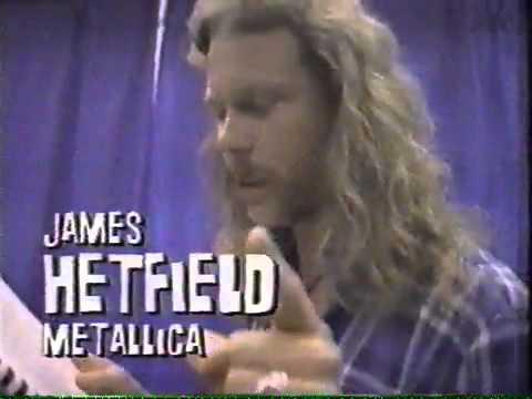 Axl Rose of Guns N Roses Calls James Hetfield of Metallica a Racist