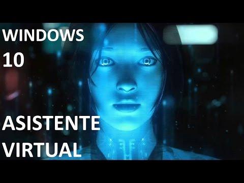 Como activar el Asistente Virtual en Windows 10
