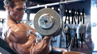 Easy Arm Workout at Gold