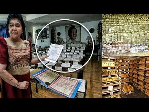 Mga kayamanan sa loob ng Bahay ni Marcos Ipinakita na