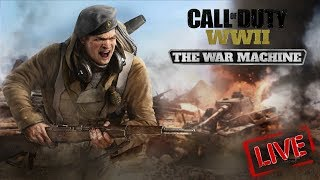 COD WW2 DLC 2 THE WAR MACHINE LIVE