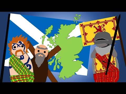 The History Of The Scottish Flag