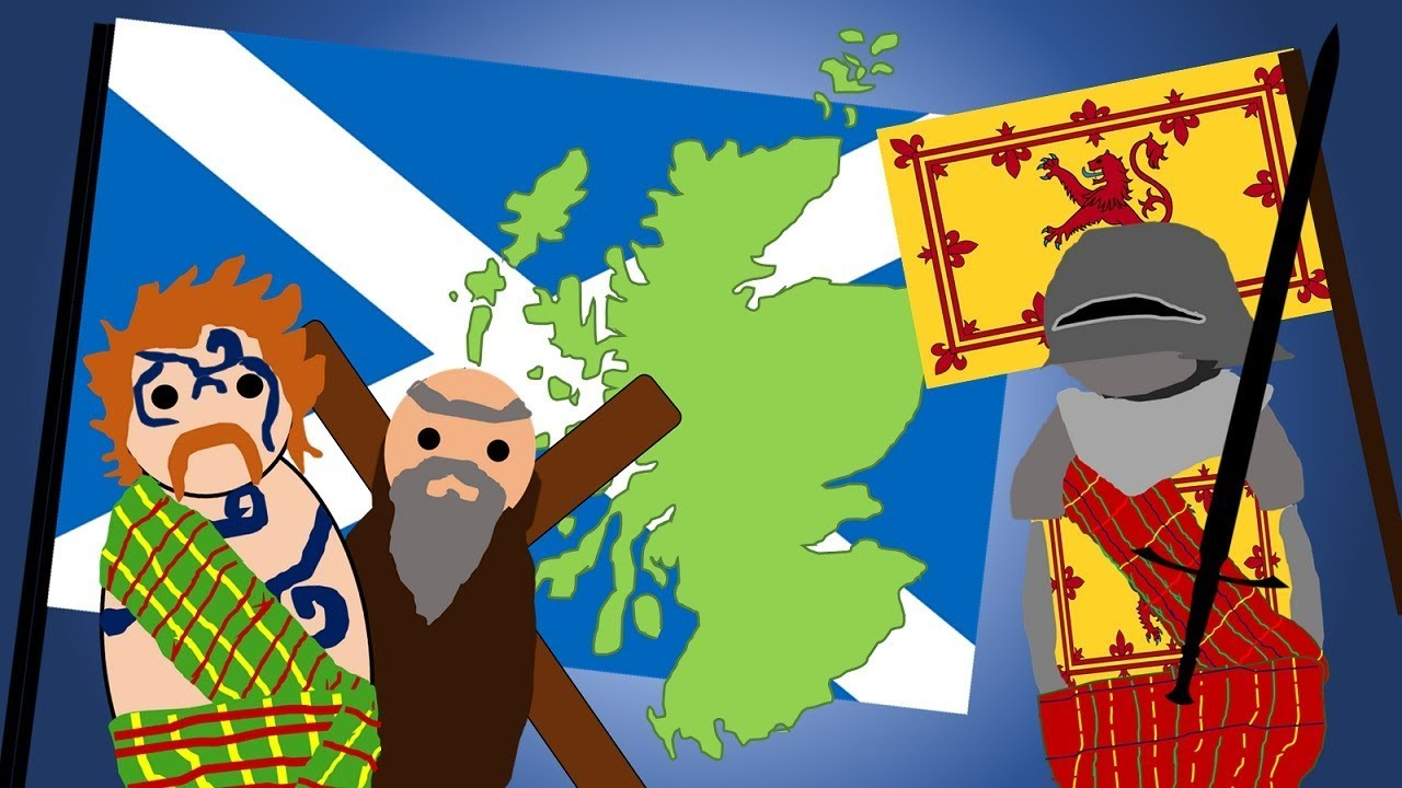 The History of the Scottish Flag - YouTube