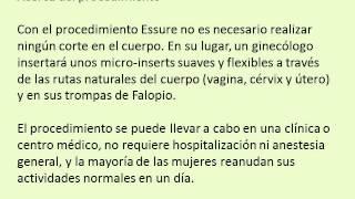 Repeat youtube video METODO DEFINITIVO ESSURE