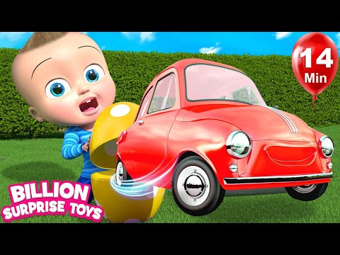 Giant Inflatable Balloon | + More Kids Songs | Billion Surprise Toys