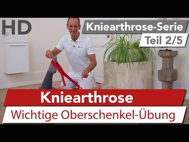 Kniearthrose // Die wichtigste Übung bei Gonarthrose // Knieschmerzen