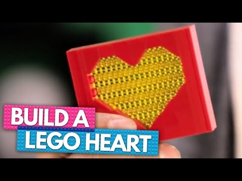 How To Build Your Own LEGO Heart ♥ | BRICK X BRICK