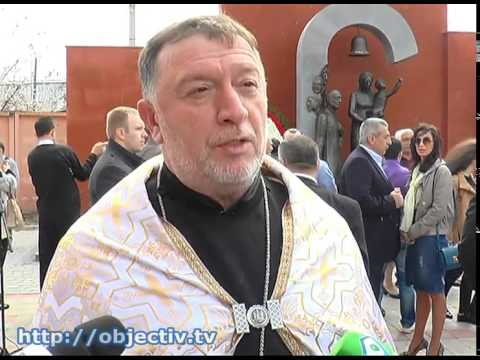 В Харькове открыли памятник жертвам геноцида армян