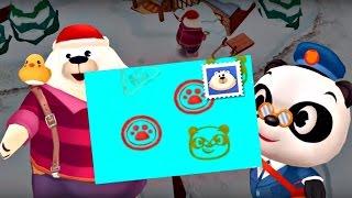 Игры для детей. Доктор панда - почтальон